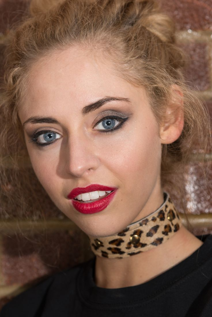 """Neo"" Choker, available online now!   #noknoklondon #denim #fashion #womensfashion #jewellery #choker #leopard #leopardprint #studded"