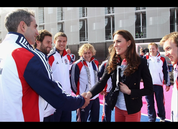 greating the olympic team