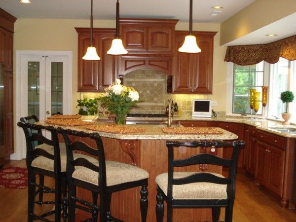 Kitchen Island Wainscoting And Corbels Kitchen