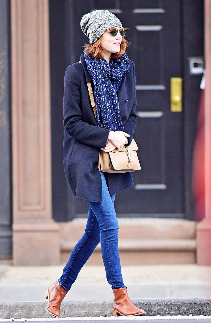 Emma Stone Is Clearly Obsessed With These Boots via @WhoWhatWearUK