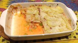 Stoofschotel van witte kool met oranje linzen. Meer recepten vind je bij Centrum voor Hypnotherapie, energetisch & biologisch leven www.rustpunt.be