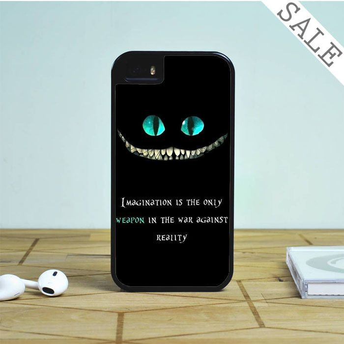 alice in wonderland quote For iPhone | Samsung Galaxy | HTC Case