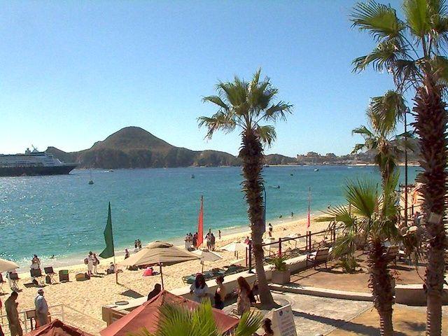 Live #video #webcam overlooking Médano Beach in Cabo San Lucas #Mexico - View the cam here: http://www.cabovillas.com/webcams.asp   #travel #beach #vacation #Mexico #LosCabos #CaboSanLucas #Cabo #BajaCaliforniaSur #BCS #BajaSur #sunshine #LandsEnd #MedanoBeach