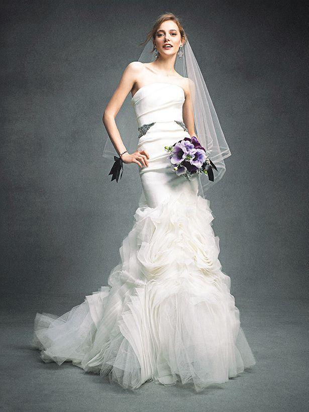 ヴェラ・ウォン ブライド銀座本店(VERA WANG BRIDE) フェミニニティ漂う洗練マーメイド