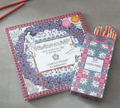 Cosmic & Eternal Love by Amrita Sen Coloring Book & Pencils
