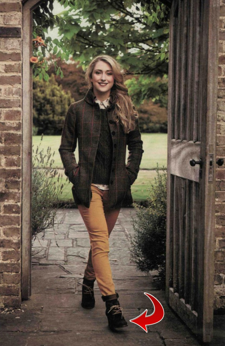 Laura Trott in Sara Ankle Boots in Hello!  November 2012