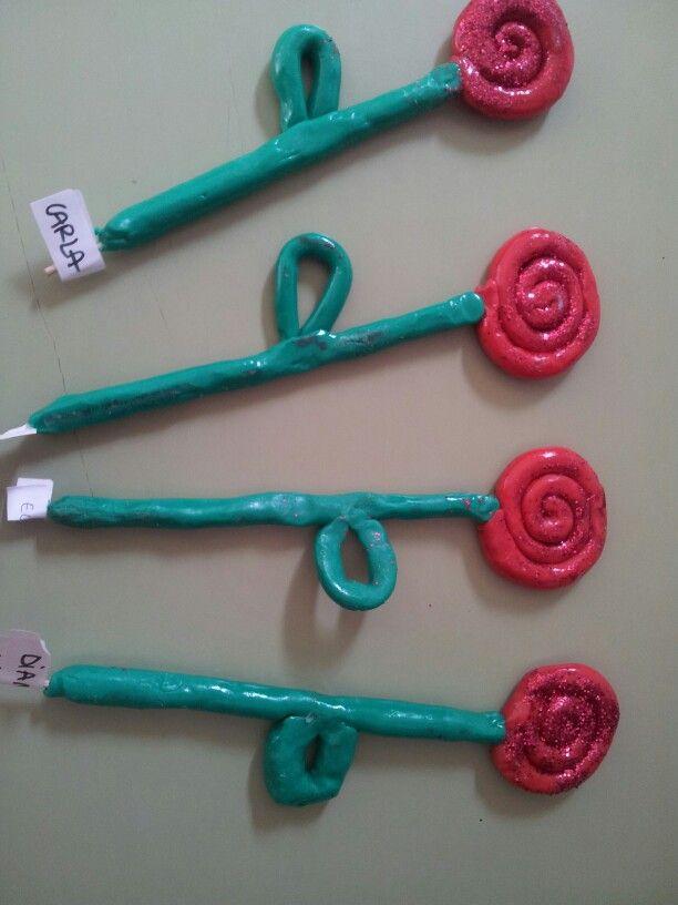 Roses de plastilina. P3