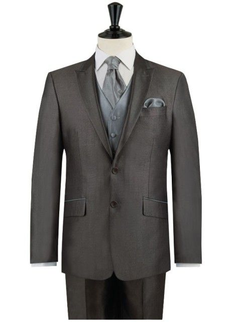 Alexander Dobell Gun Metal Grey Wedding Suit. #wedding #groom