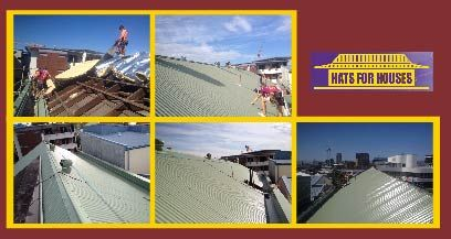 We have just finished re-roofing the Heritage listed Embroiders Guild QLD building on Brunswick st! We were very happy to be chosen for this job and as always, great work was done by everyone involved. #embroidersguild #heritagelisted #brisbane #roofing