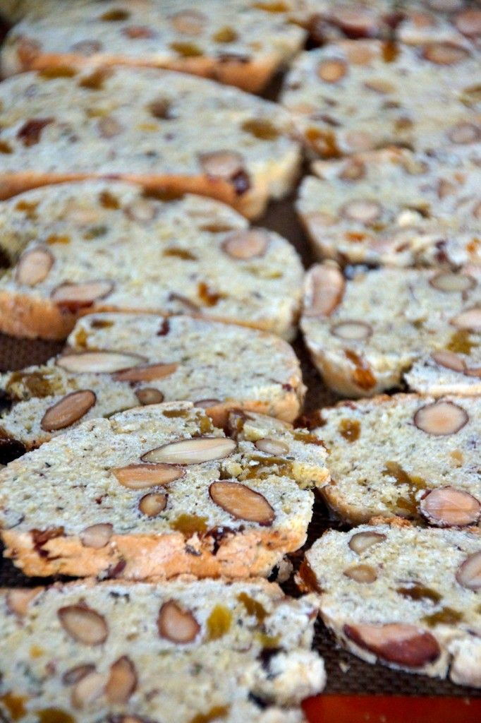 Black Olive Biscotti Recipe — Dishmaps
