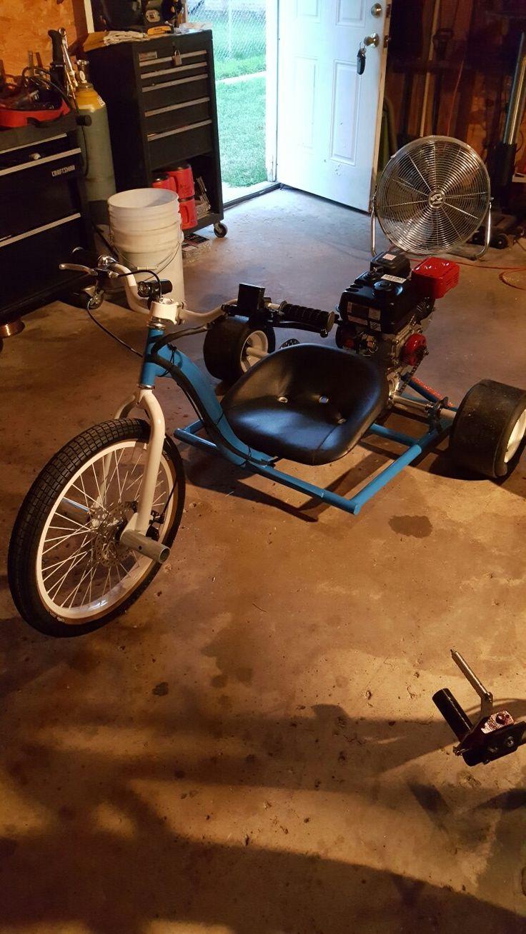 "BMX 20""  drift  trike end"