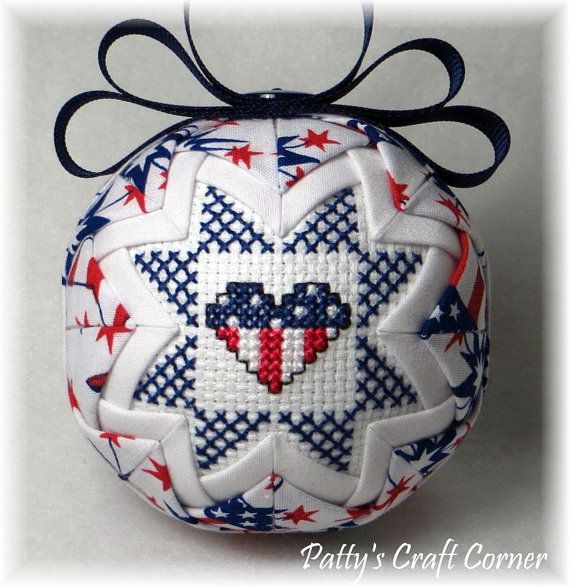 Hey, I found this really awesome Etsy listing at https://www.etsy.com/listing/192013441/quilted-keepsake-ornament-july-4th
