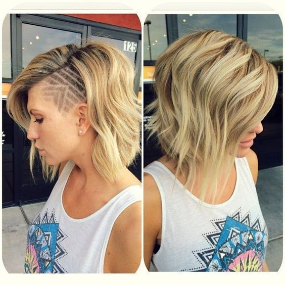 The undercut hairstyle has made a comeback for both men and women. From the vintage-inspired men's hairstyles to women cutting off their long locks and opting for shaved sides, the undercut is both versatile and feminine. If you want the undercut look but you love your long hair, then you can get creative with the … mens hairstyle shaved one side