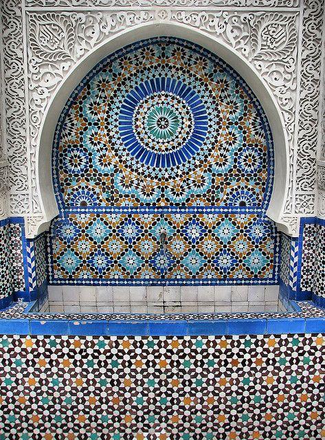 Mosquee de Paris - Ablution Fountain by *Checco*, via Flickr