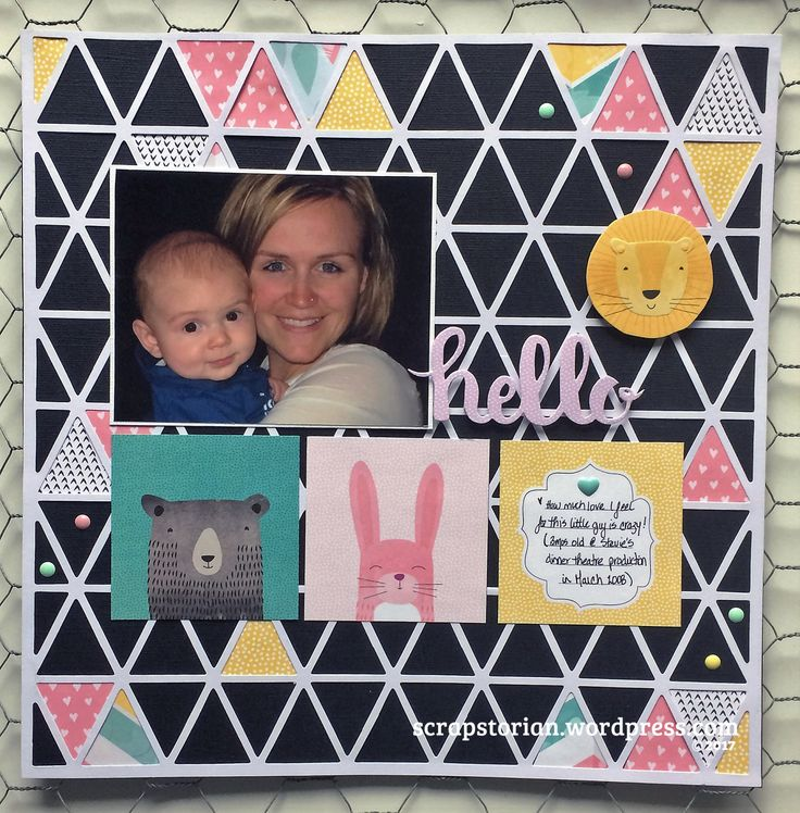 Scrapstorian review of Clique Kits, March 2017 Play kit which feature the amazing products from American Crafts, Shimelle, Little by Little