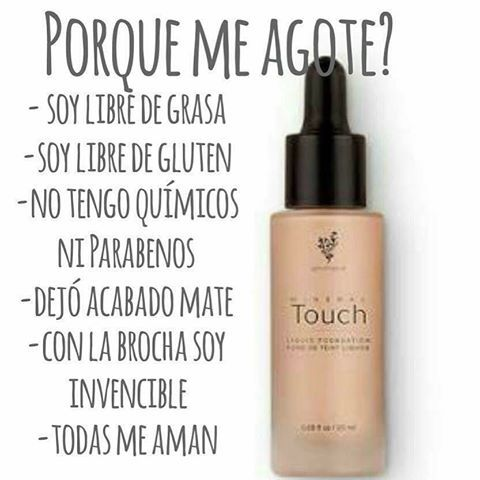 #maquillaje #base #younique #touchfoundation