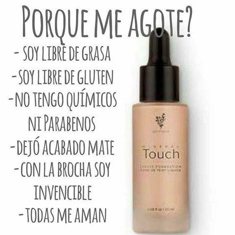 #maquillaje #base #younique #touchfoundation #oohlalaurajane #latinas #mexicanas #españolas