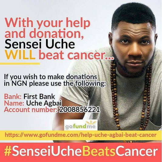 YesterdayCity FMOAPUche Agbaipopularly known asSensei Ucherevealed he has been battling with an illness which has been keeping him from work for a while.  That illness later turned out to be cancer; a stage 3 nasal lymphoma.  Read the message he shared below:  Hello everyone my name is Uche Agbai many of you may know me as SenseiUche of City 105.1FM. Those of you who do may have also noticed I have been off air for an unusually long time. In appreciation of the concerned messages and loving…