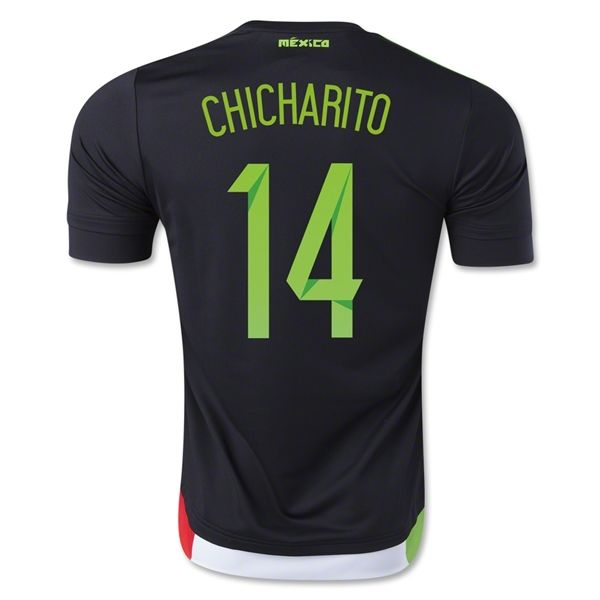 Youth 2015 Mexico Chicharito Soccer Jersey and Shorts Set