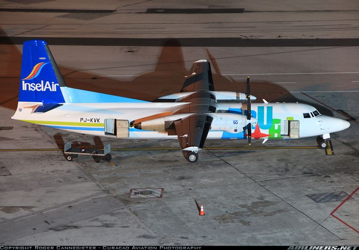 Fokker 50 - Insel Air Aruba   Aviation Photo #2020596   Airliners.net