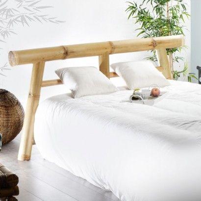 T te de lit en bambou 180 kol o balyss pinterest t tes de lit tes et t - Tete de lit bambou 160 ...