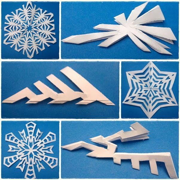 More snowflake patterns