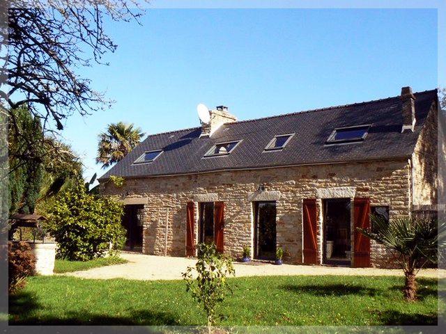 Gite longère en pierre à La Foret Fouesnant / Finistère / Bretagne