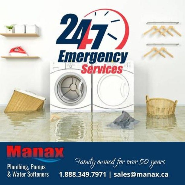 Why Manax for Emergency Plumbing Services? At Manax we take great pride in being able to provide prompt and efficient services to our customers faced with emergency plumbing problems. In addition we take steps to make sure that emergency is prevented in the future. #Manax #plumbing #pumps #watertreatment #watersoftener #DufferinCounty #Shelburne #Orangeville #GrandValley #Caledon #Elora #Fergus #Guelph. http://manax.ca/
