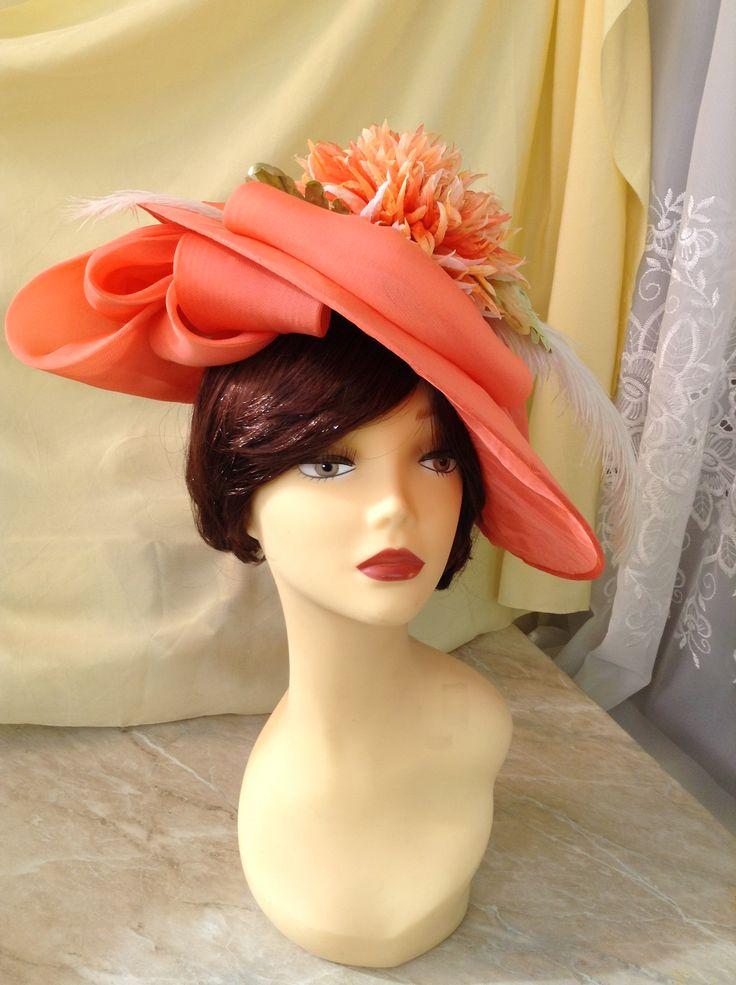 Вечерняя шляпа от дизайнера Хлопониной Светланы.