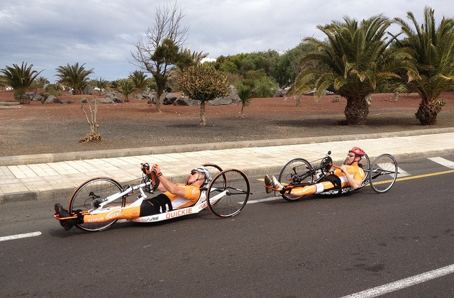 Handcycling in Lanzarote