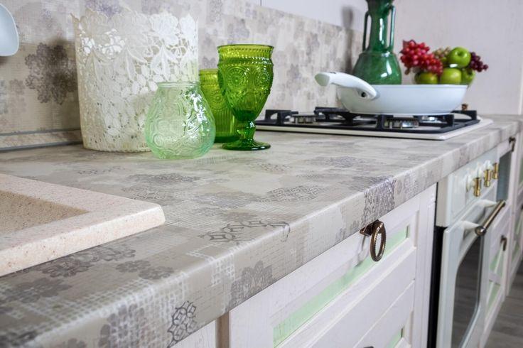 Купить Амели 2 «Дуб Прованс зеленый» (комплектация Кухня ) - Кухни в Москве | Цена, размеры, инструкция по сборке, отзывы | Интернет-магазин мебели «Любимый Дом»