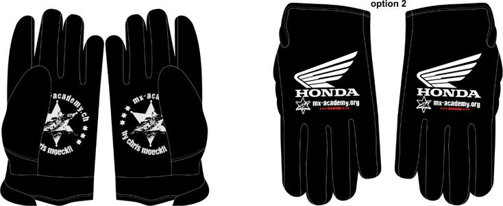 #allblack Keep it simple, how do you like the design of our new MX-Academy Honda gloves?