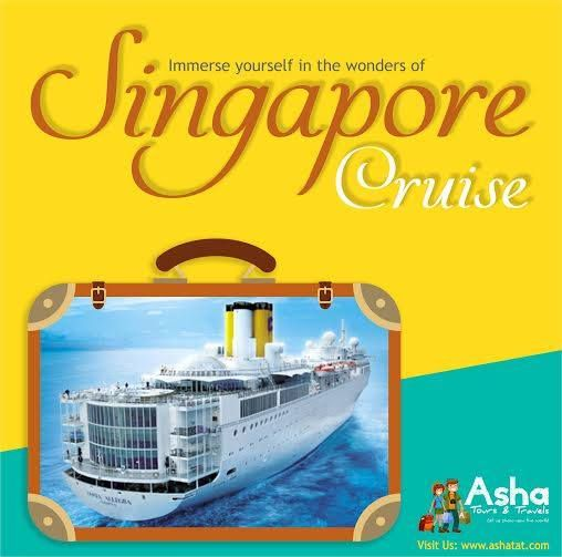 Last chance! Be sure to grab the best price! Singapore is a cruising hub with extended travelling routes to the region's old world charms and exciting new world attractions. Book your Star Cruise vacation package, as it takes you to places where the sun, sea and cultures blend colorfully together. Take home only the most profoundly beautiful memories. Visit us: www.ashatat.com. ‪#‎Singapore‬ ‪#‎Ashatours‬ ‪#‎Travels‬ ‪#‎World‬ ‪#‎Traditions‬ ‪#‎StarCruise‬ ‪#‎Beautiful‬ ‪#‎Tours‬ ‪