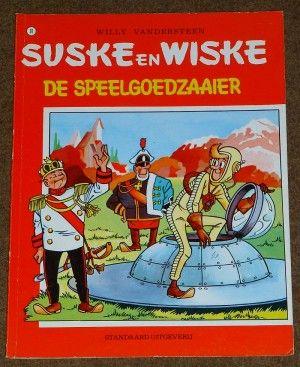 Suske en Wiske: De Speelgoedzaaier (Dl. 91) - Sassafrass Store    (Verkocht)