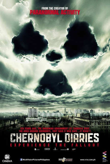 """Chernobyl Diaries"" starring Jesse McCartney, Jonathan Sadowski and Olivia Dudley is an original story from Oren Peli, who first terrified audiences with his groundbreaking thriller, ""Paranormal Activity."" The film follows a group of six young tourists who, looking to go off the beaten path, hire"