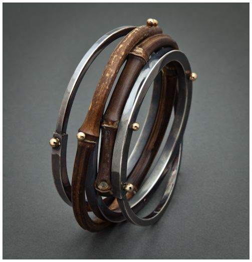 Bracelet | Fred and Janis Tate, from their Bamboo Collection