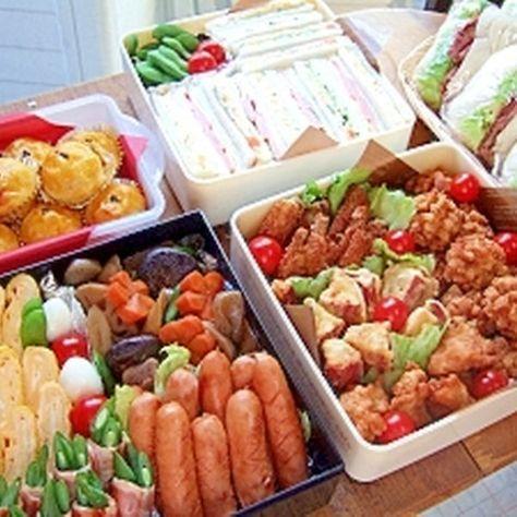 2012運動会のお弁当♪