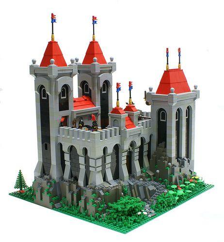 Love this LEGO castle