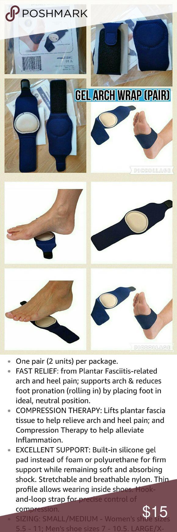 Women's sandals good for plantar fasciitis uk - Gel Arch Wrap Support For Men Women