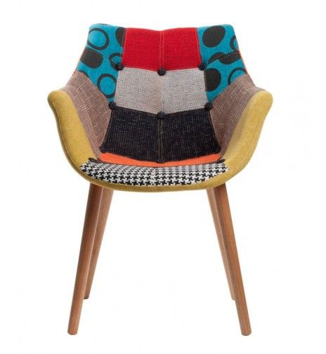 Chaise Eleven Patchwork Multi - Fleux (219€)
