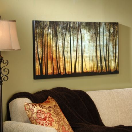 Golden forest wall art walls house and future house for International wall decor
