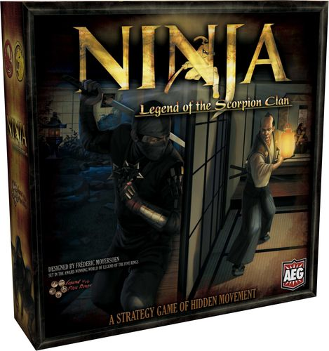 Ninja: Legend of the Scorpion Clan - Created by Frederic Moyersoen - Published by AEG