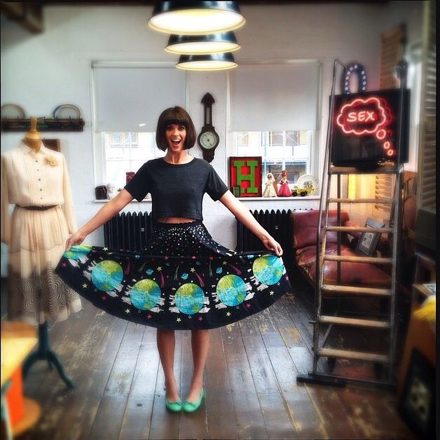 Dawn O'Porter - This Old Thing. Love her style. Vintage inspiration.