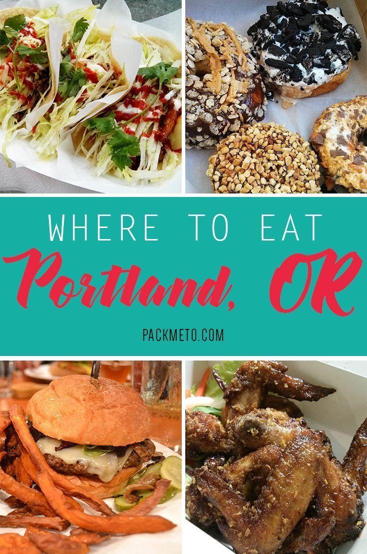 A Quick Tour Through The Portland Food Scene In 2020 Portland Food Portland Oregon Food Foodie Travel