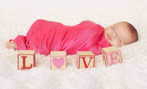 valentines day newborn photography shoot by kristeen marie parents gift