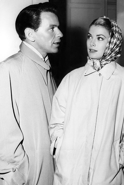 Frank and Grace Kelly