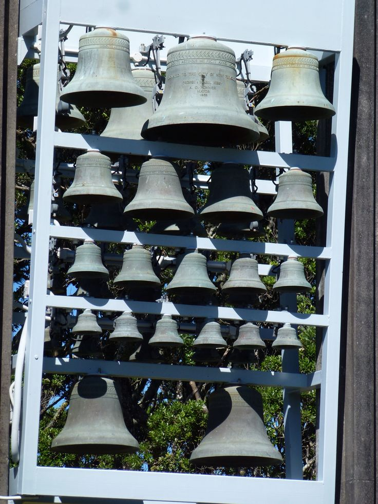 Kibby Carillon in New Plymouth, New Zealand. 37 Eijsbouts bells with electric action.