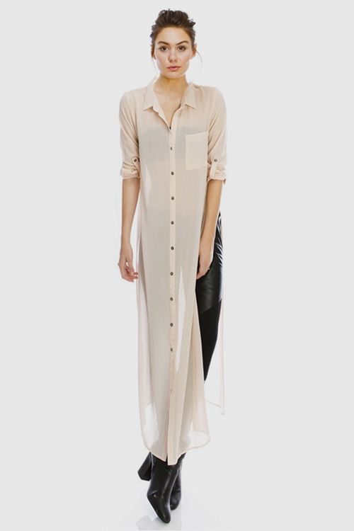 May Chiffon in Warm Ivory//