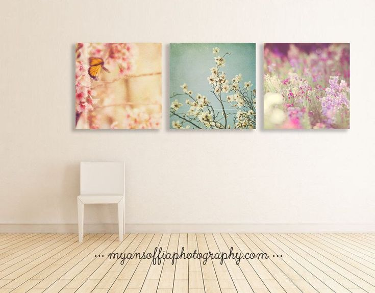 nature photography, garden art, flower prints, butterfly photo, baby girl wall art, girls room decor, pink, mint blue, purple, magnolia by sixthandmain on Etsy https://www.etsy.com/listing/256508435/nature-photography-garden-art-flower #babygirlroom