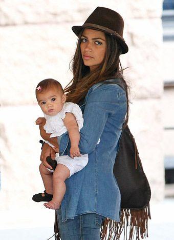 Poll: Camila Alves with baby Vita, how insanely adorable!?